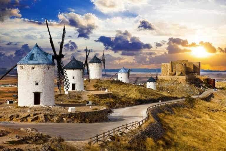 Ruta por los molinos de viento de la Mancha