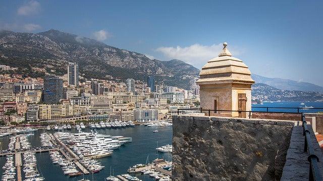 Mónaco en la Costa Azul