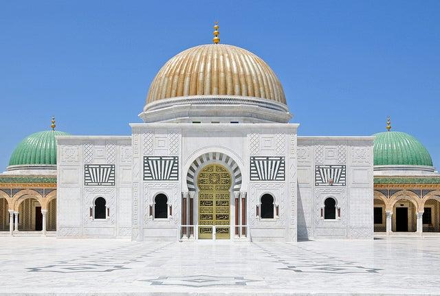 Mausoleo de Habib Bourghiba en Monastir Túnez