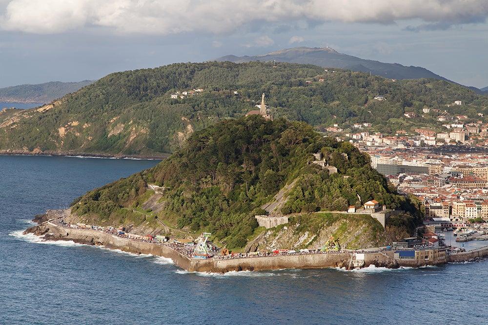 Monte Urgull, una de las cosas que ver en San Sebastián