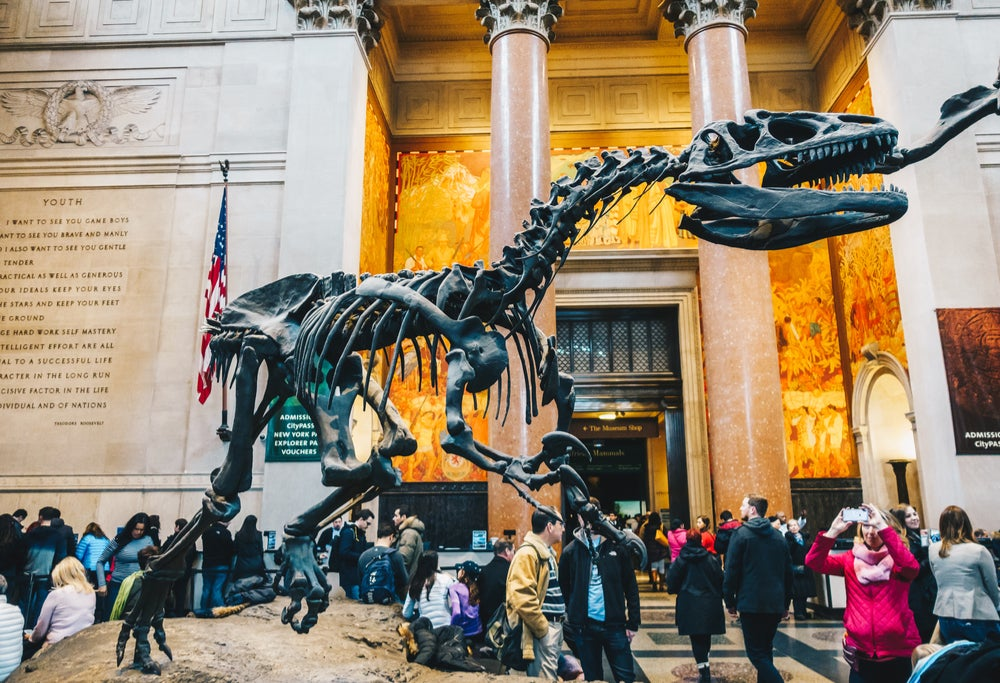 Museos de Historia Natura de Nueva York