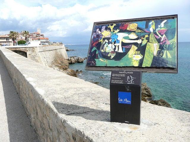 Museo Picasso, una de las opciones en un viaje a la Costa Azul