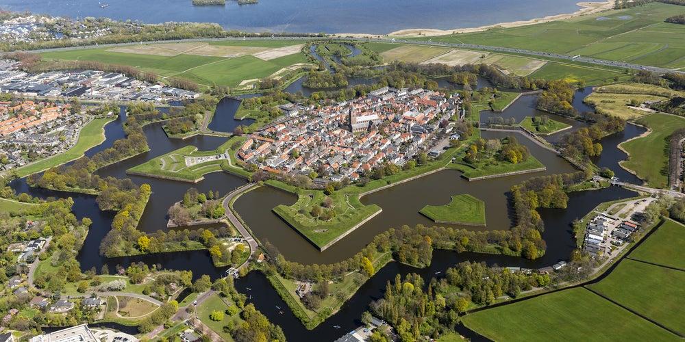Naarden en los Países Bajos