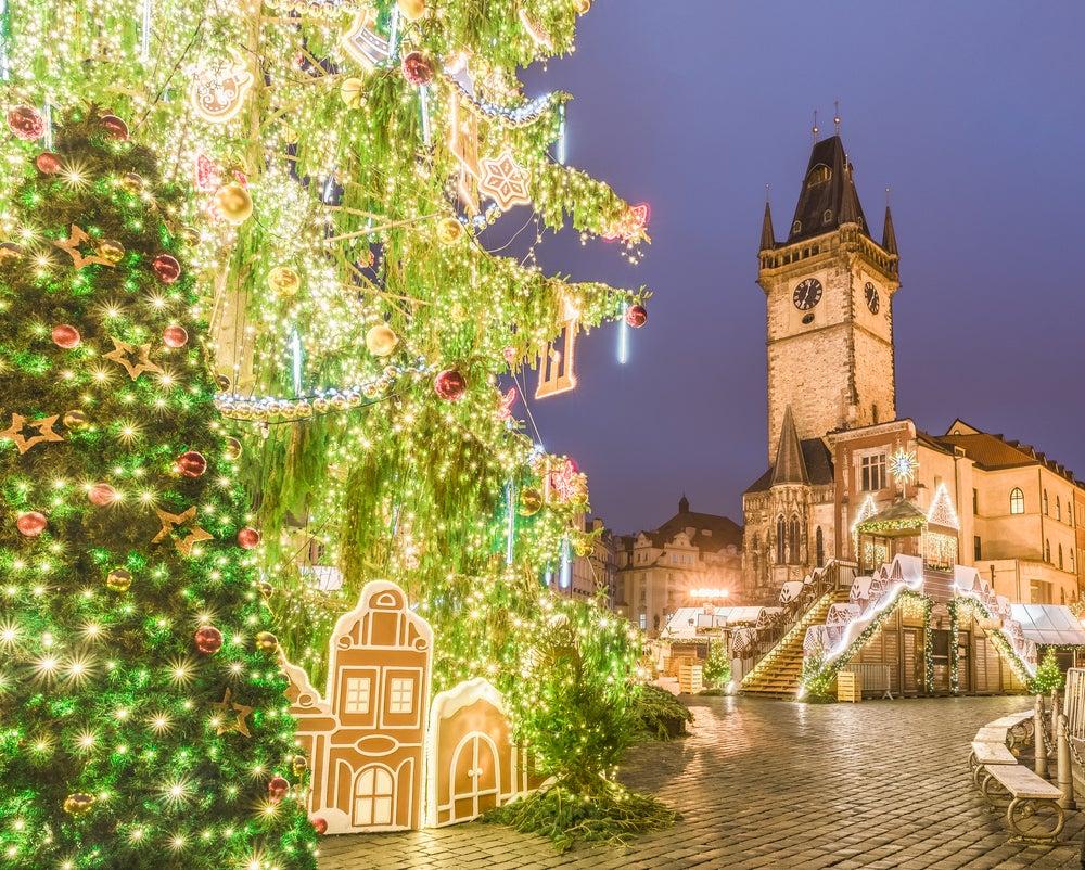 NAvidad en la República Checa, decoración en Praga