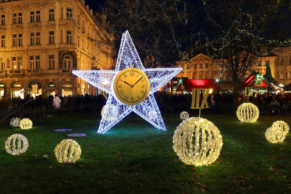 NAvidad en la República Checa, reloj