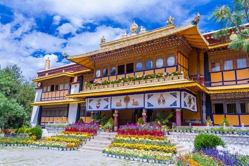 Norbulingka en Lhasa