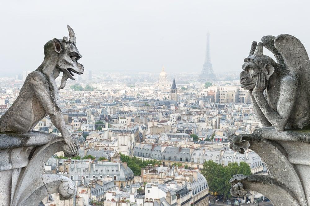 Notre Dame, uno de los escenarios literarios más conocidos
