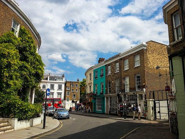 Notting Hill, un barrio de película en Londres