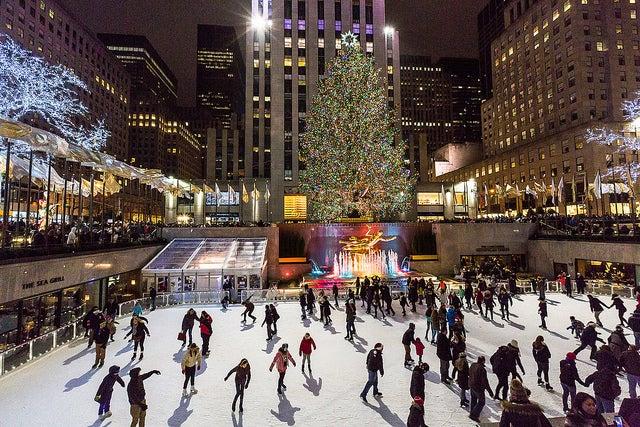 Disfrutar de Nueva York en invierno: Rockefeller Center