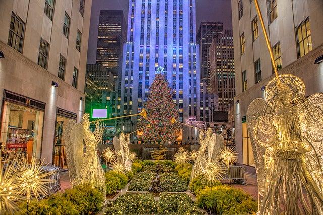 Rockefeller Center Nueva York Navidad