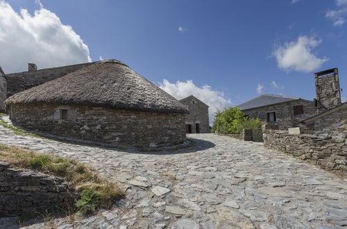 O Cebreiro en la Galicia rural