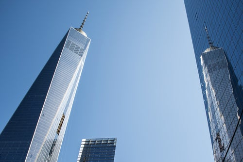 One World Trade Center, uno de los rascacielos de Nueva York