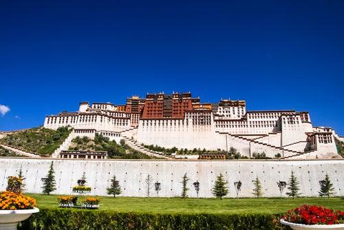 Palacio Potala en Lhasa