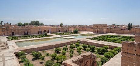 Palacio BAdi, una de las cosas que ver en Marrakech