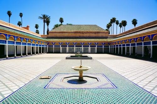 Palacio Bahía en Marrakech