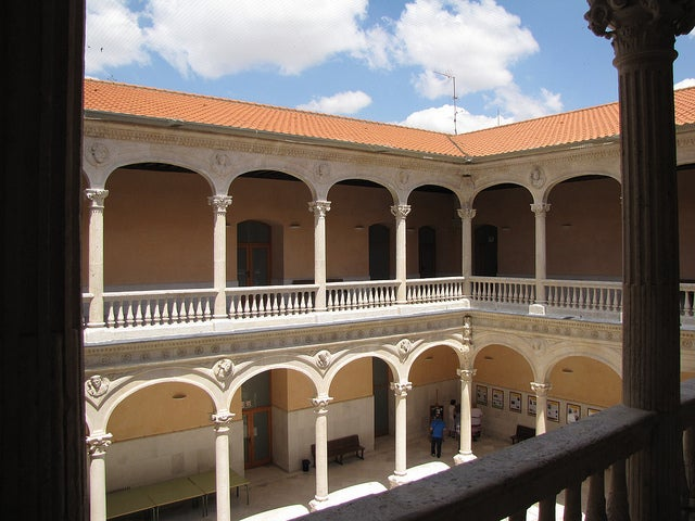Visitamos el Palacio de los Dueñas de Medina del Campo