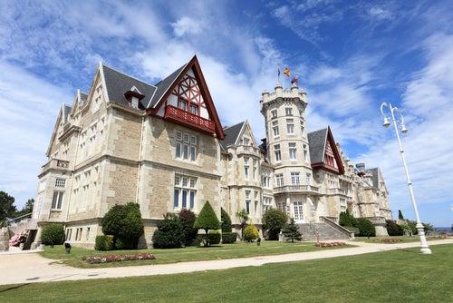Palacio de la MAgdalena en Santander, Cantabria