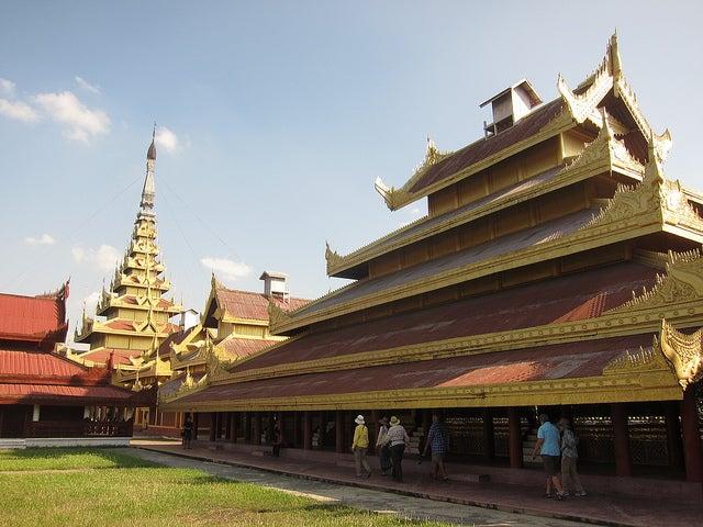 Palacio de Mandalay en Myanmar