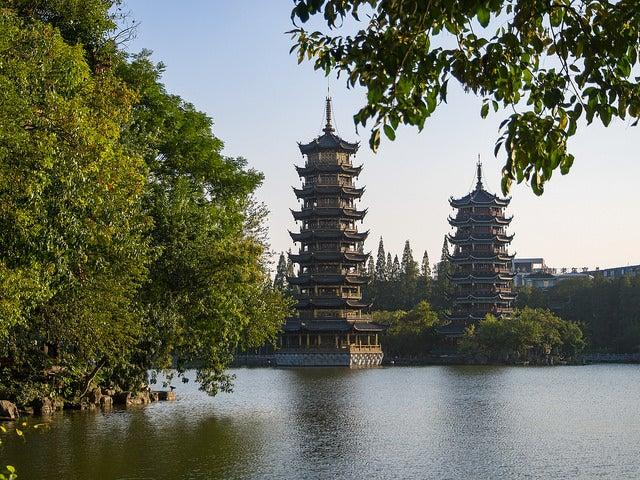 Parque en Guilin