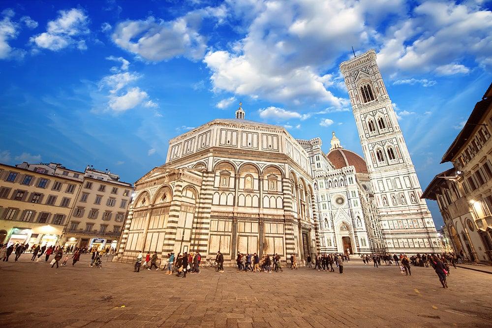 Piazza del Duomo en Florencia