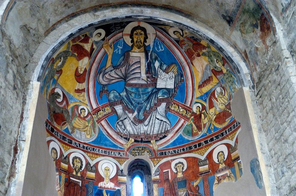 Interior de Sant Climent de Taüll