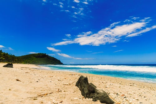 Playa de Isla Reunión