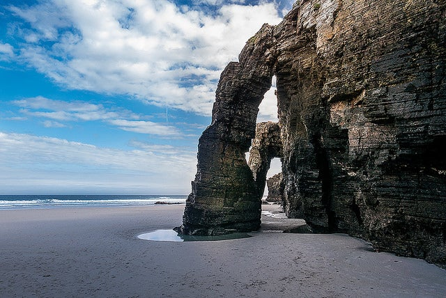 Playa de las Catedrales en Galicia