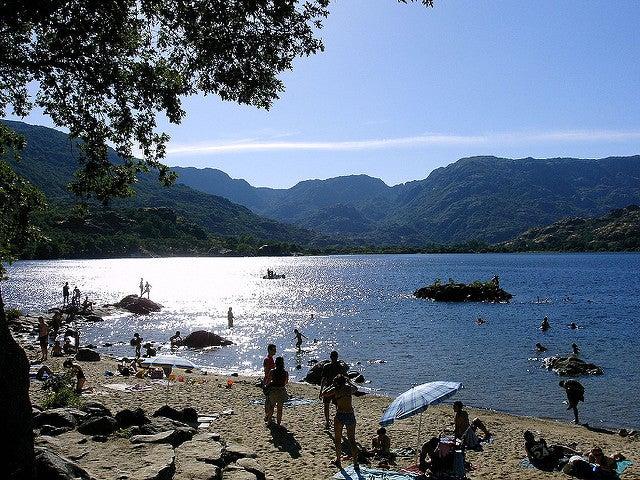 Playas de agua dulce: lago de Sanabria
