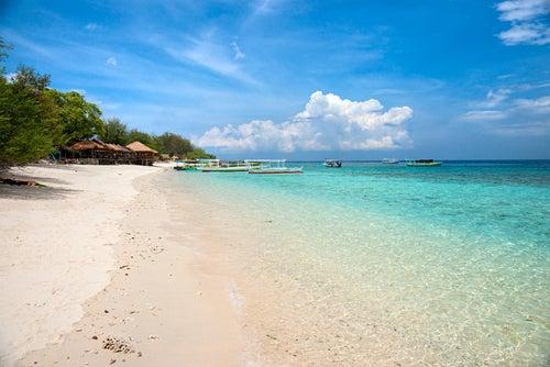 Las playas de las islas Gili, un paraíso para disfrutar