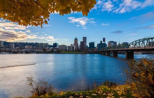 Portland en la Costa Oeste de EEUU