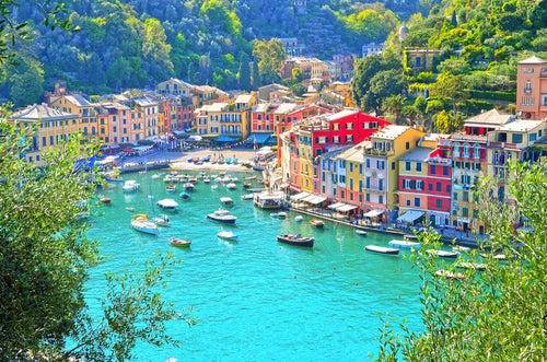 Portofino, uno de los sitios más bonitos del Mediterráneo