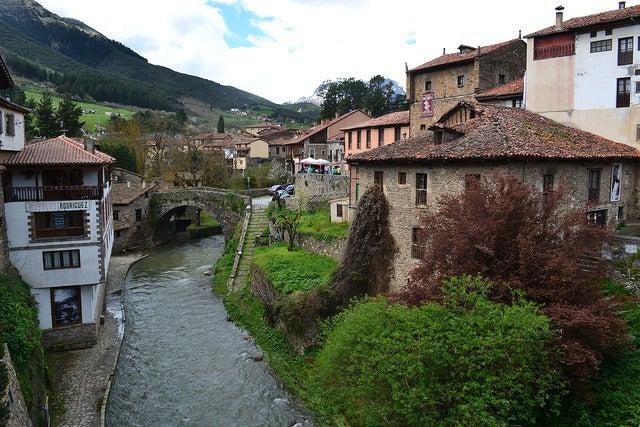Potes, uno de los pueblos de los Picos de Europa