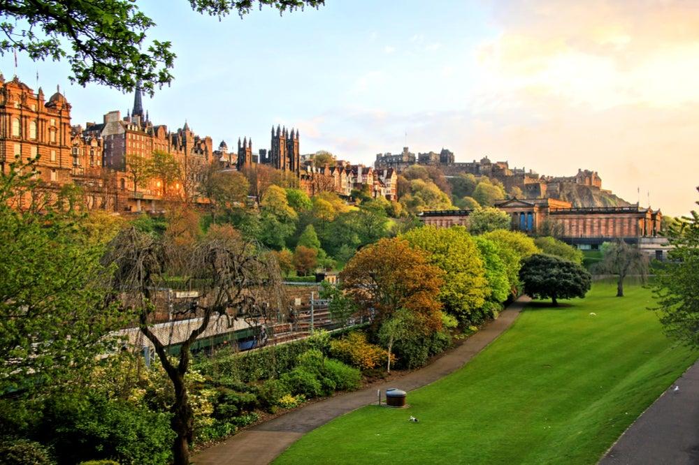 Princess Street Garden en Edimburgo