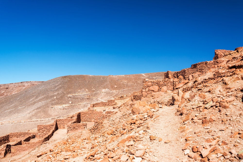 Pucará de Quitor en San Pedro de Atacama