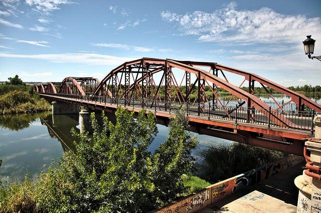 Puente de Hierro en Talavera de la Reina
