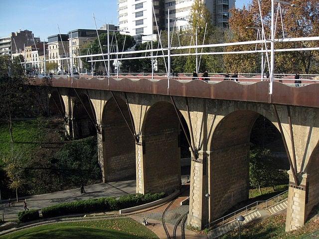 Puente del Paseo en Terrassa