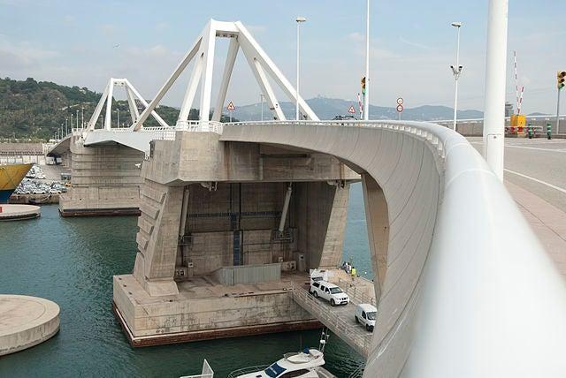 Puente puerta de Europa