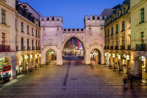 Puerta Karlstor en Múnich