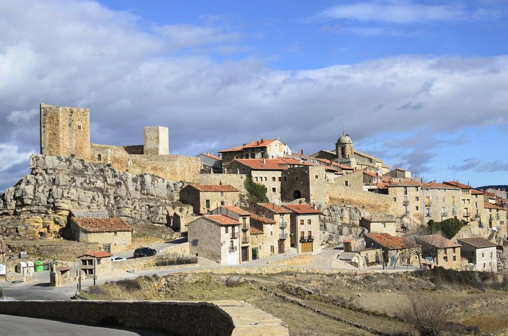 Puertomingalvo,uno de los pueblos de Aragón más bonitos