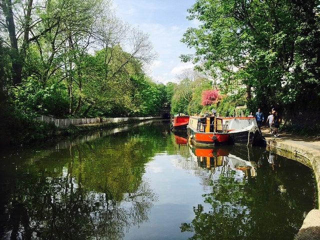 Visita alternativa por Londres, Regent's Canal