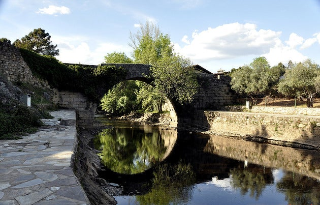 Ribera de Acebo en Sierra de Gata