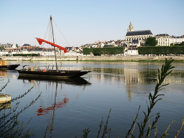 Río Loira en Blois