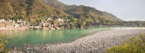 Río Ganges en Rishikesh