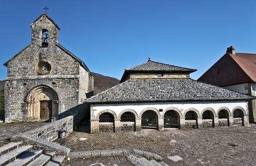 Roncesvalles en el Pirineo
