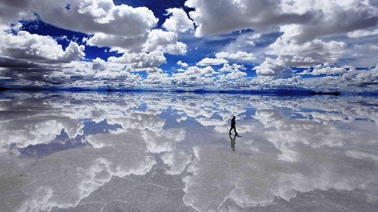 Salar de Uyuni, el mayor desierto de sal del mundo