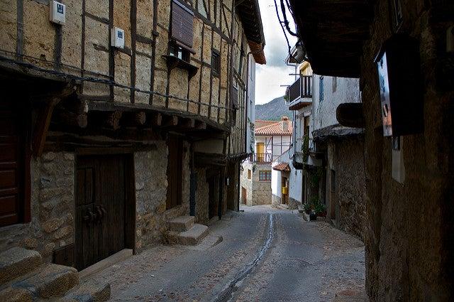 San Martín de Trevejo en la Sierra de Gata