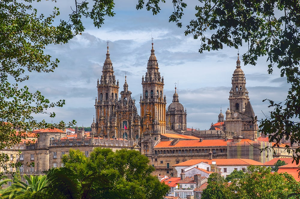 Santaigo de Compostela, una delas ciudades de España con encanto