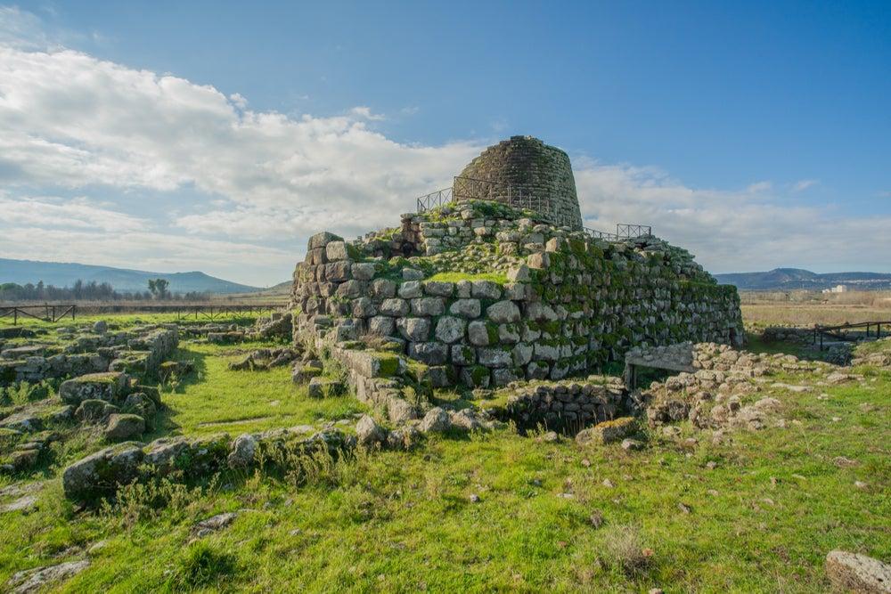 Yacimiento de Santu Antine en Cerdeña