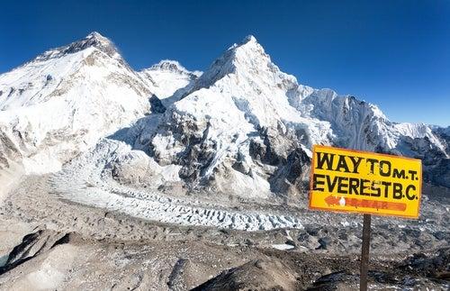 Senda hacia el Everest