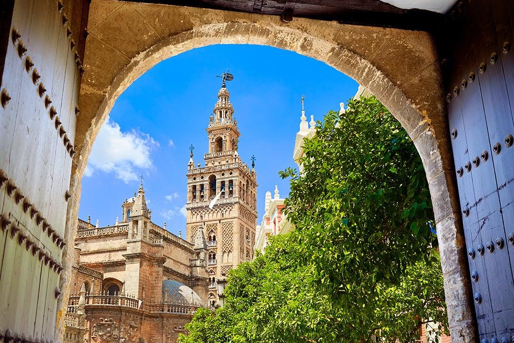 Subir a la Giralda, una de las cosas que hacer en Sevilla